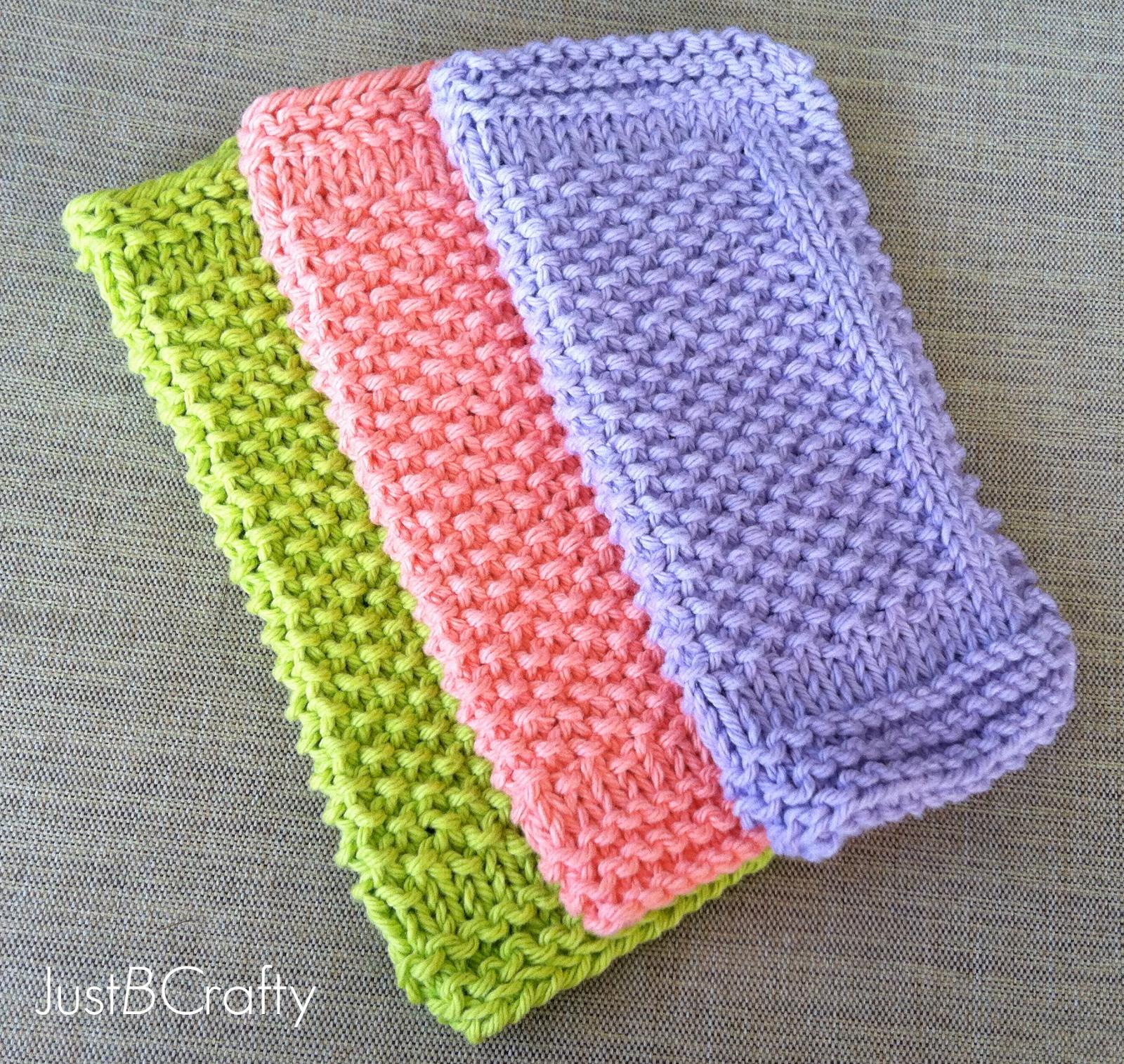 Seed Stitch Dishcloth Pattern - Free Pattern by | Seed stitch ...