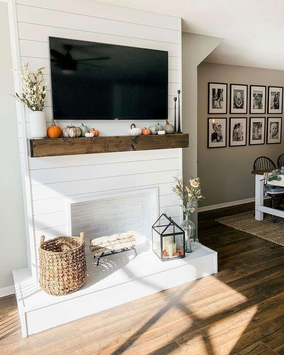 Living Room With Fireplace And Tv On Different Walls New Faux Fireplace Ideas Fo Home Fireplace Home Decor Living Room With Fireplace
