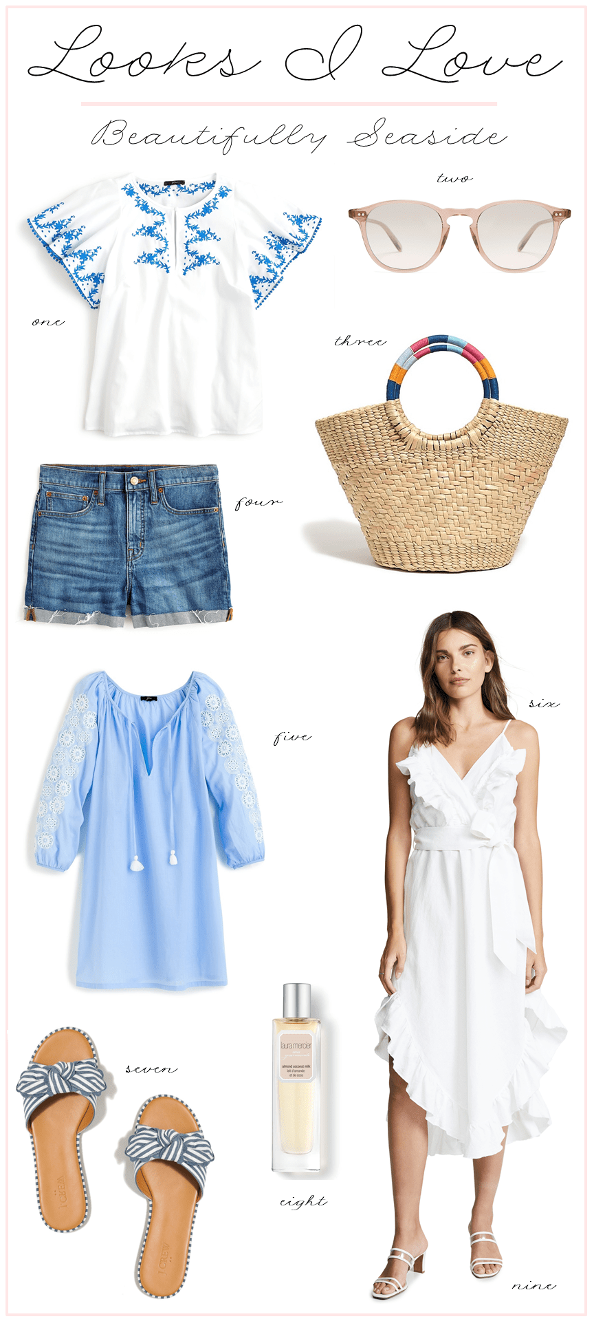 Summer Vacation Outfit Ideas #summervacationstyle