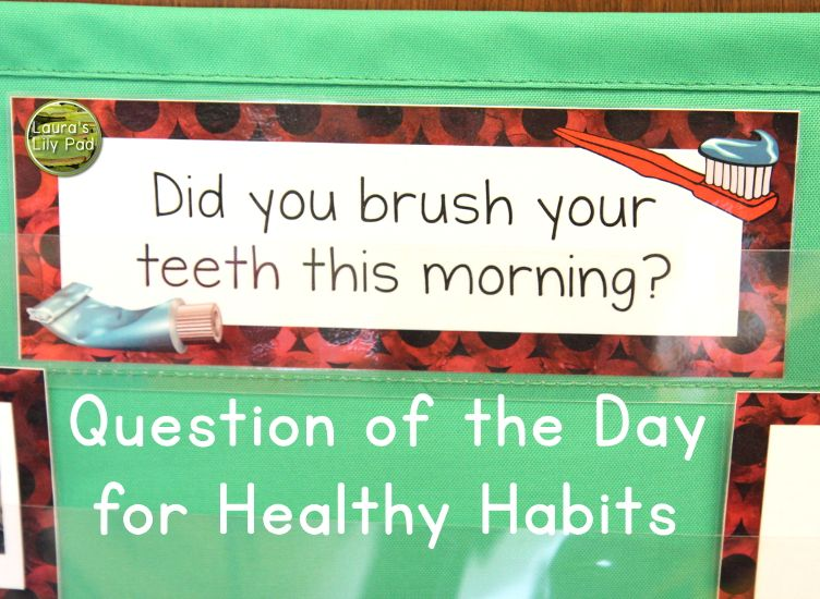 Dental Health Books and Circle Time Activities for PreK