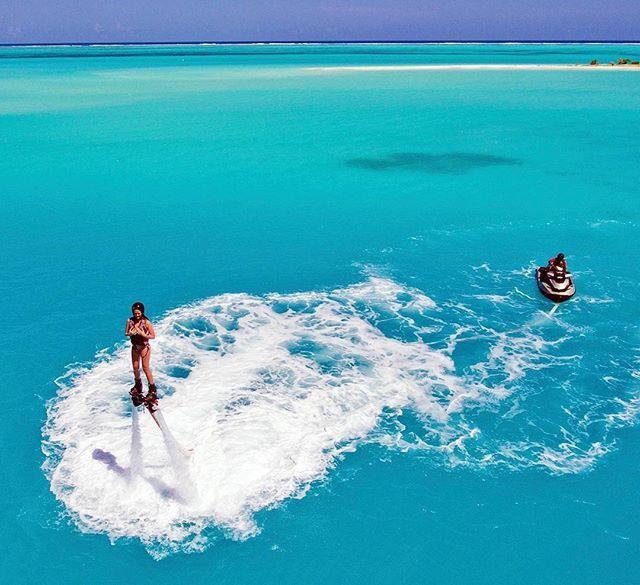 Sun Island Beach Maldives: Fly Boarding At Sun Island Resort & Spa Maldives