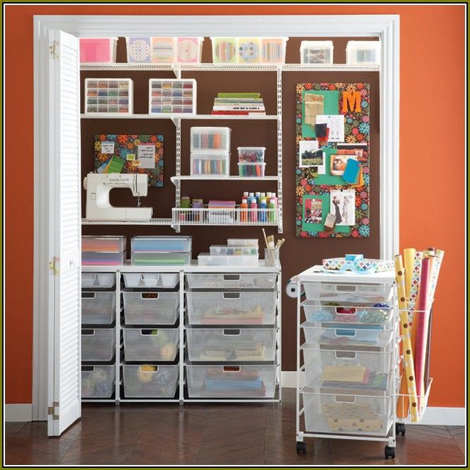 Merveilleux Craft Closet Storage Ideas | Your Home Improvements Refference | Diy Closet  Organization Systems