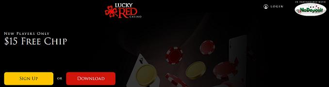 Lucky Red Casino New Player No Deposit Bonus