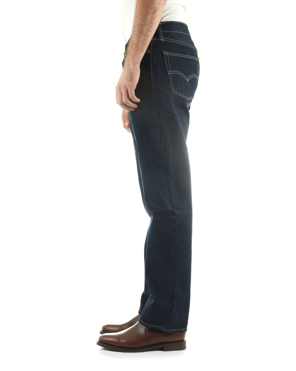 Levi's® 514 Relaxed Straight Mens Jeans Onewash Blue W34