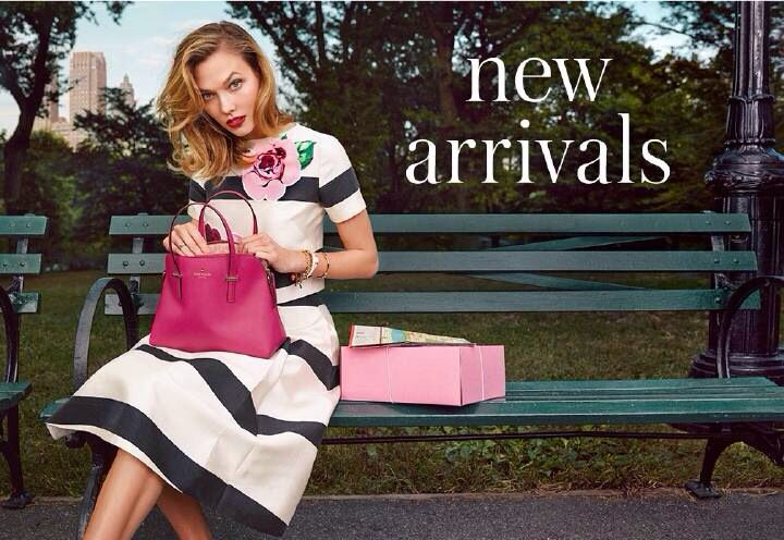 Karlie Kloss for Kate Spade