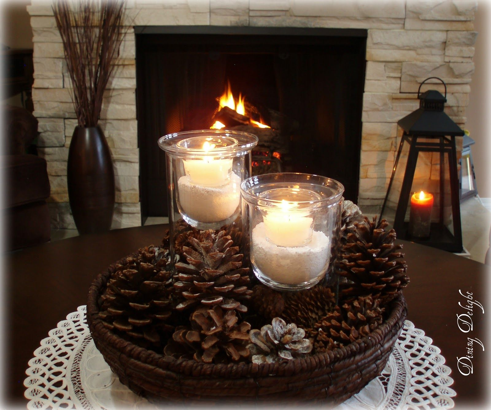 Dining Room Centerpiece Ideas Candles Part - 44: Dining Room Centerpiece