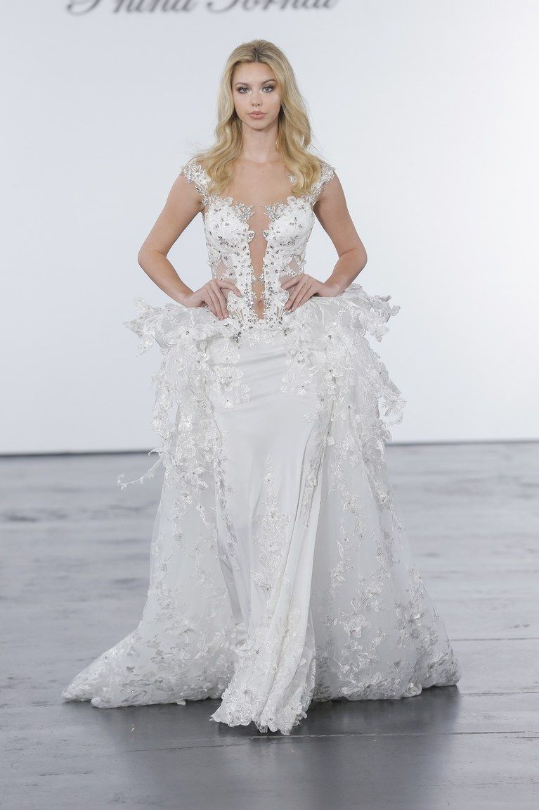 00f194473f257 Pnina Tornai for Kleinfeld Bridal & Wedding Dress Collection Fall 2018 |  Brides