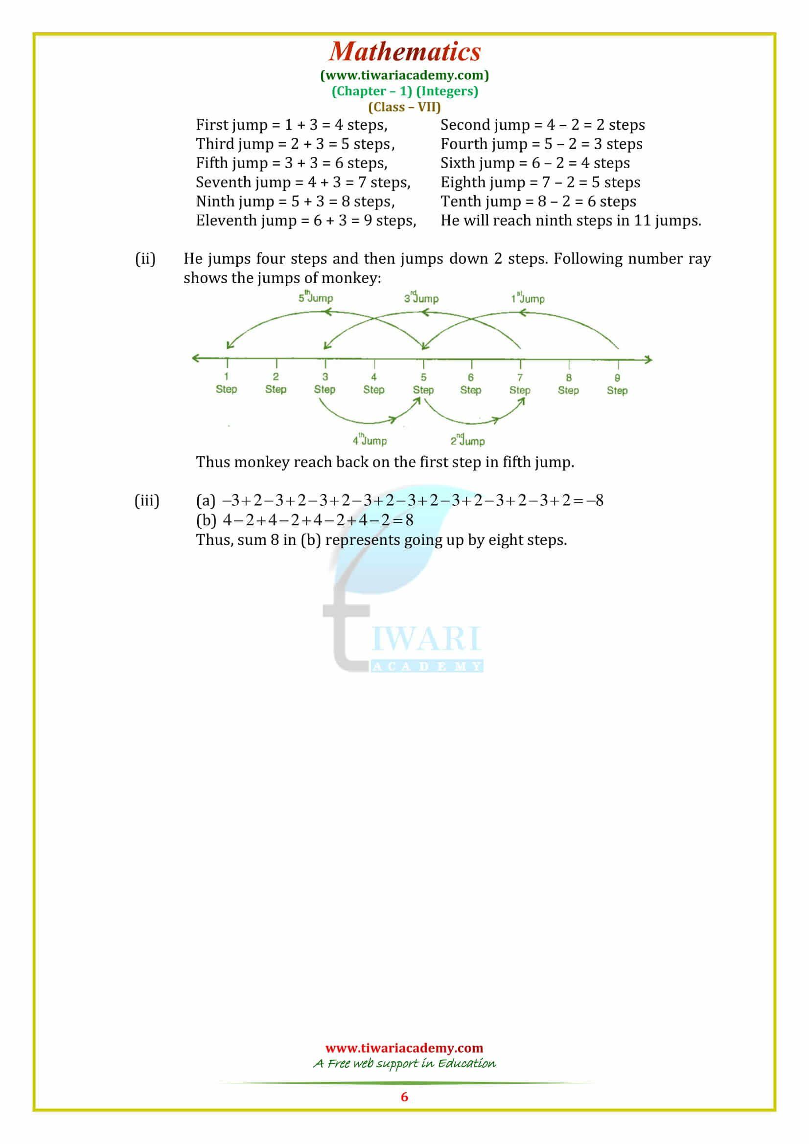 Ncert Solutions For Class 7 Maths Chapter 1 Integers For 2020 2021 Maths Solutions Math Maths Syllabus [ 2339 x 1653 Pixel ]