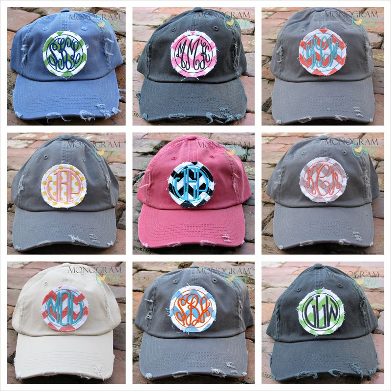 Monogram Chick Chevron Baseball Hat Baseball Hats d33ae7a6e64