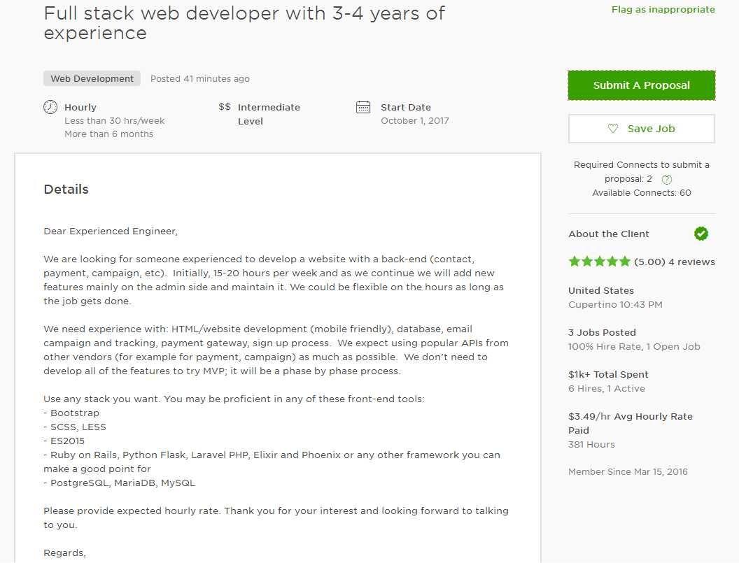 27+ Web Developer Cover Letter . Web Developer Cover Letter Upwork ...