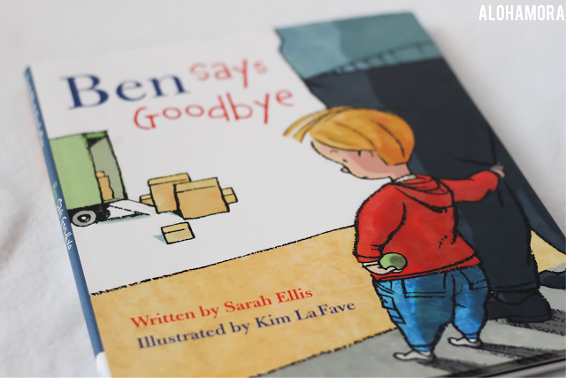 Alohamora Open A Book Ben Says Goodbye Gets 3 5 Stars Picture Book Ben Says Goodbye By Sarah Ellis Book Review For This 3 5 5 S Picture Book Books Sayings
