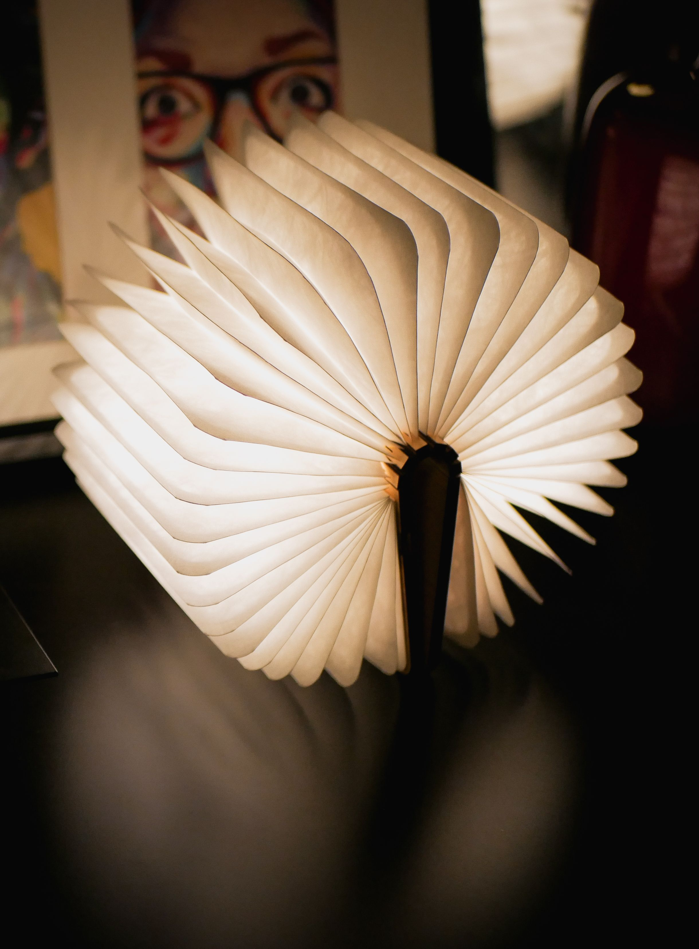 Pin By Pavel Mazov On Cool Gadgets Book Lamp Wooden Books Lamp