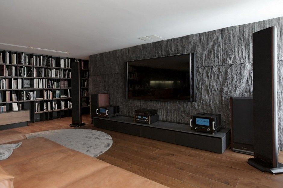 Stone On Walls Interior Tv - Szukaj W Google | Stone On Wall/Tv