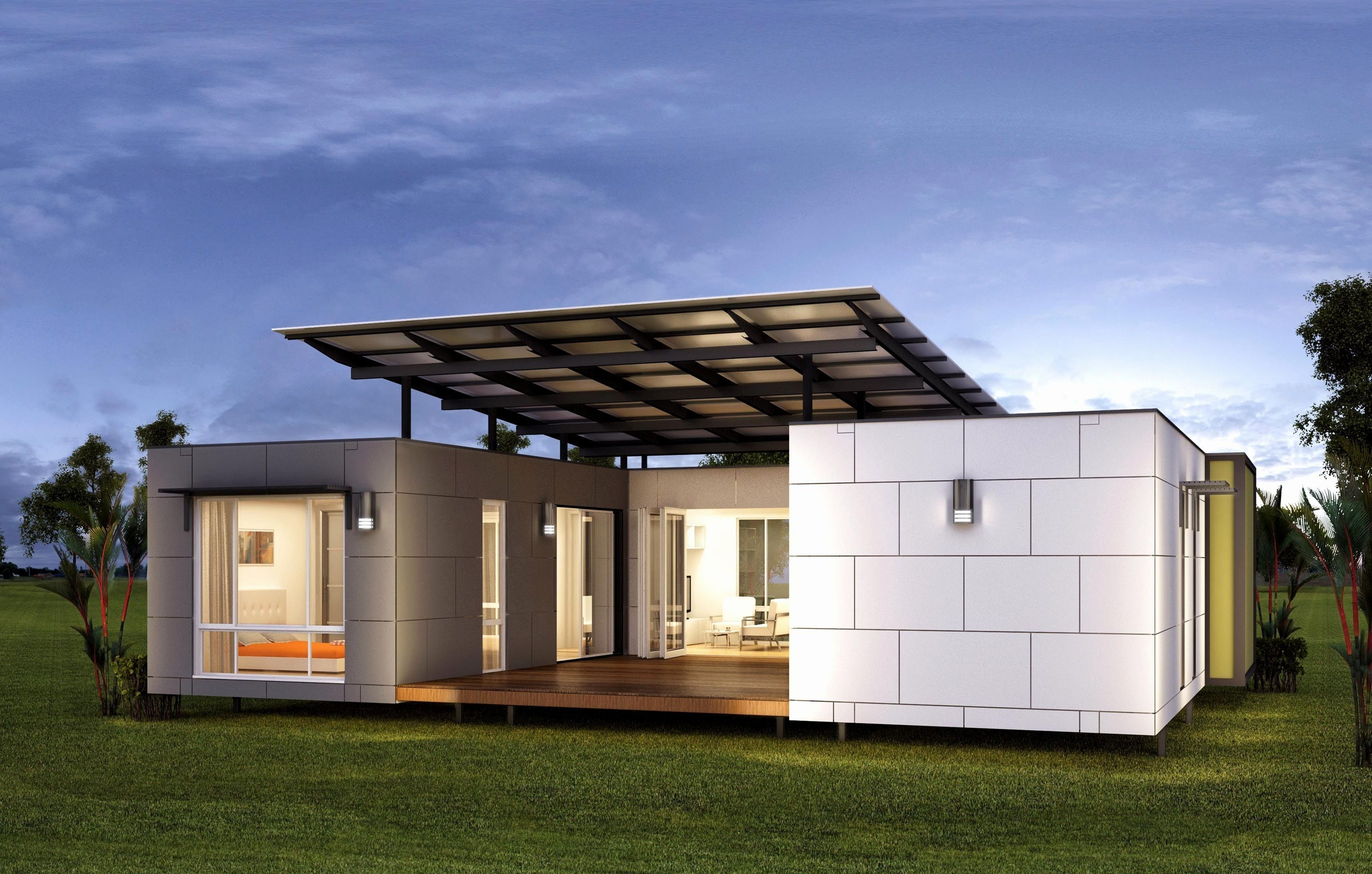15 Attractive Container House Design Ideas For Inspirations Small Modular Homes Prefab Modular Homes Container House