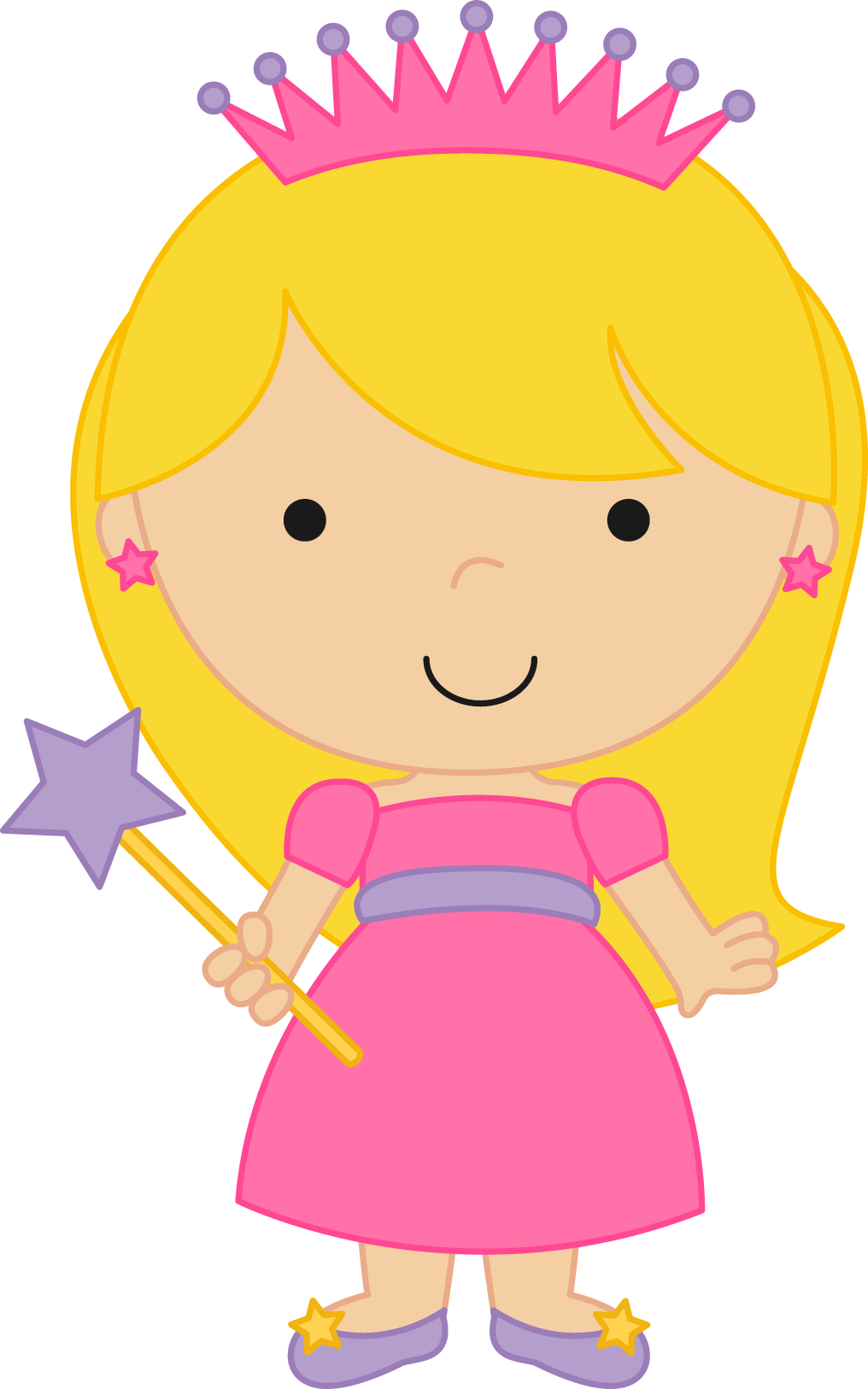 princesas e pr ncipes fairytale princess clipart 02 png minus rh pinterest com princess clip art for kids princess clip art for kids