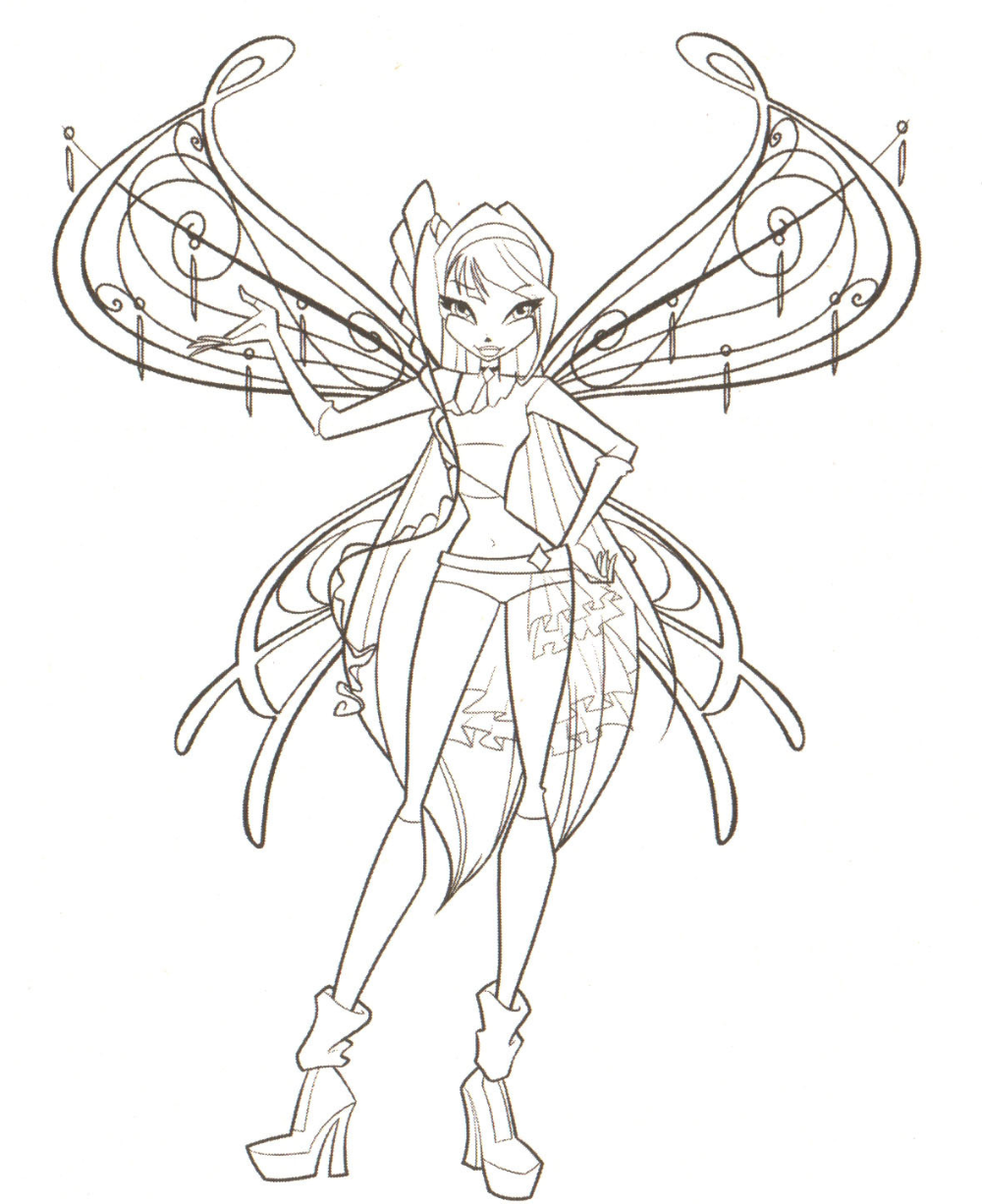 Winx Miusa Boyama Gazetesujin Coloring Pages Coloring Pages For Girls Cartoon Coloring Pages