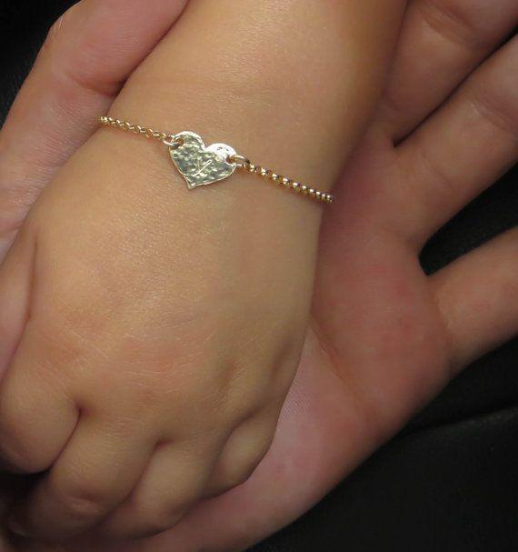 Infant Bracelet Baby Child Gold By Minilali