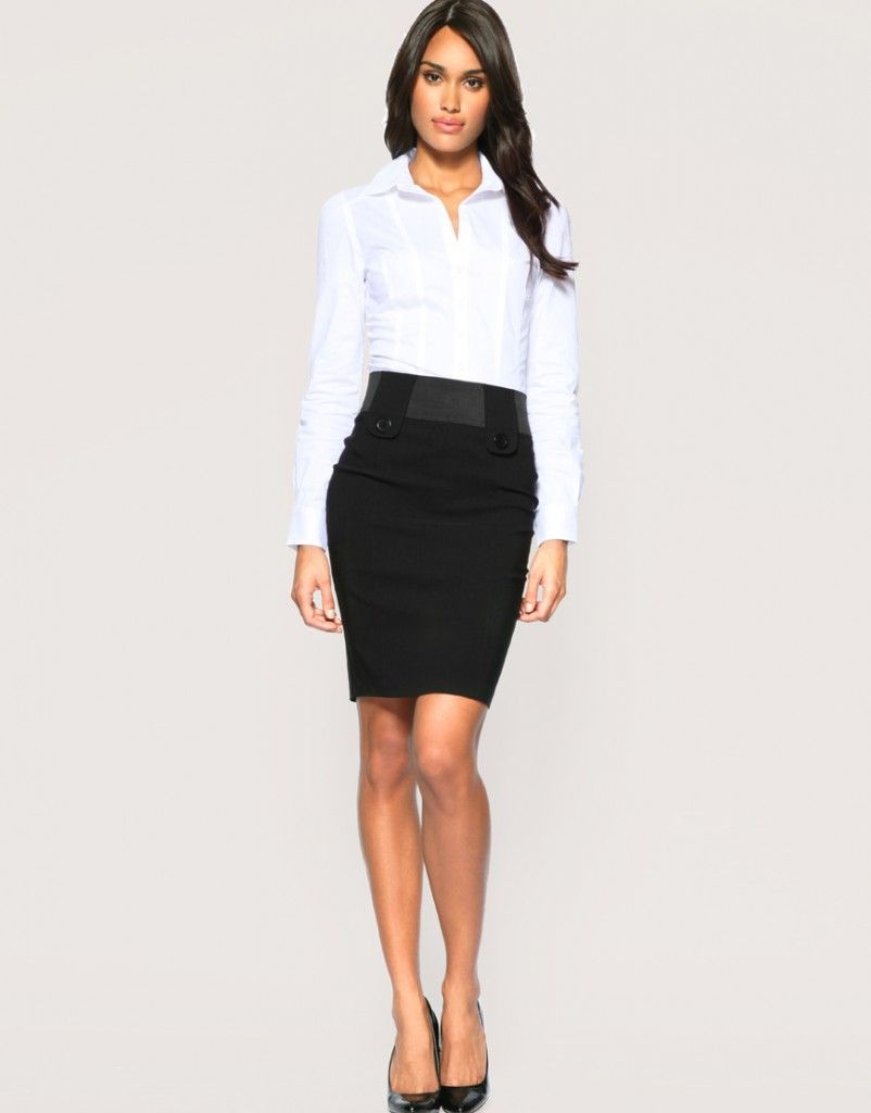 4ea1d3d2a5 10 Ways to Wear a Pencil Skirt   Fashion Inspiration Blog   My Style ...