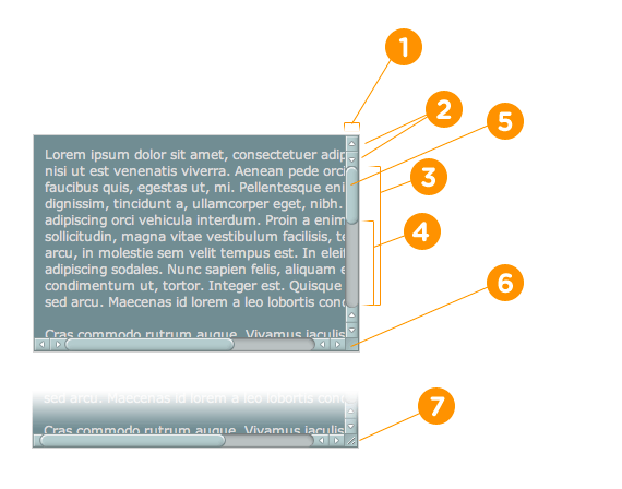 Css Styling Of Scrollbars Custom Css Web Layout Design
