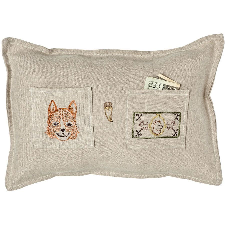 The Cutest Fox Tooth Fairy Pillow