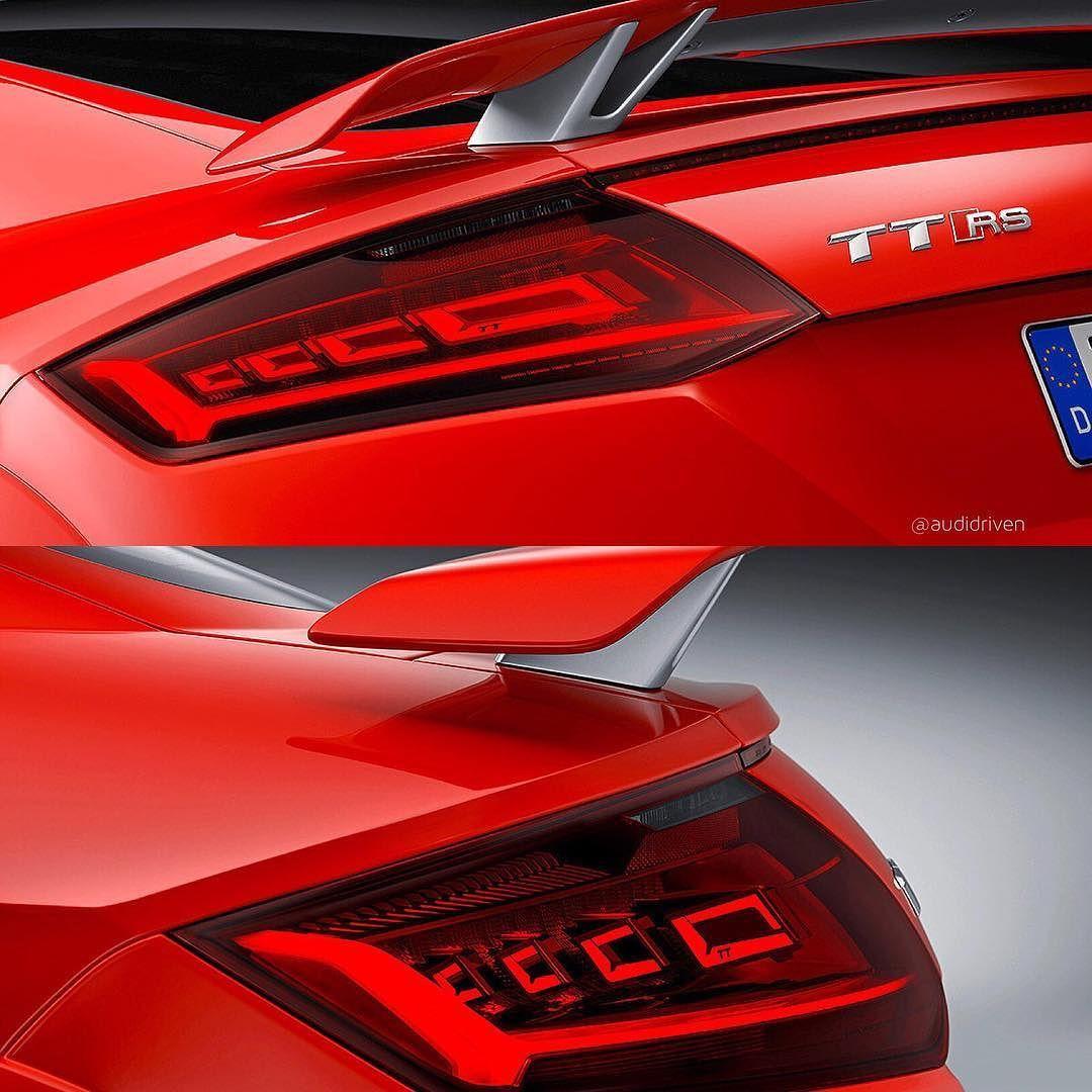 3/3 ... new #oled rear lights on 400hp #newTTRS #Audi #TTRS #TTRSRoadster oooo : @audidriven : audi  oooo are you #audidriven? - for repost & like oooo #AudiTTRS #quattro #5cylinder #quattroGmbH #AudiSport #Audicolor #redAudi #newtt #AudiSportcars #auditt #newTTRSRoadster