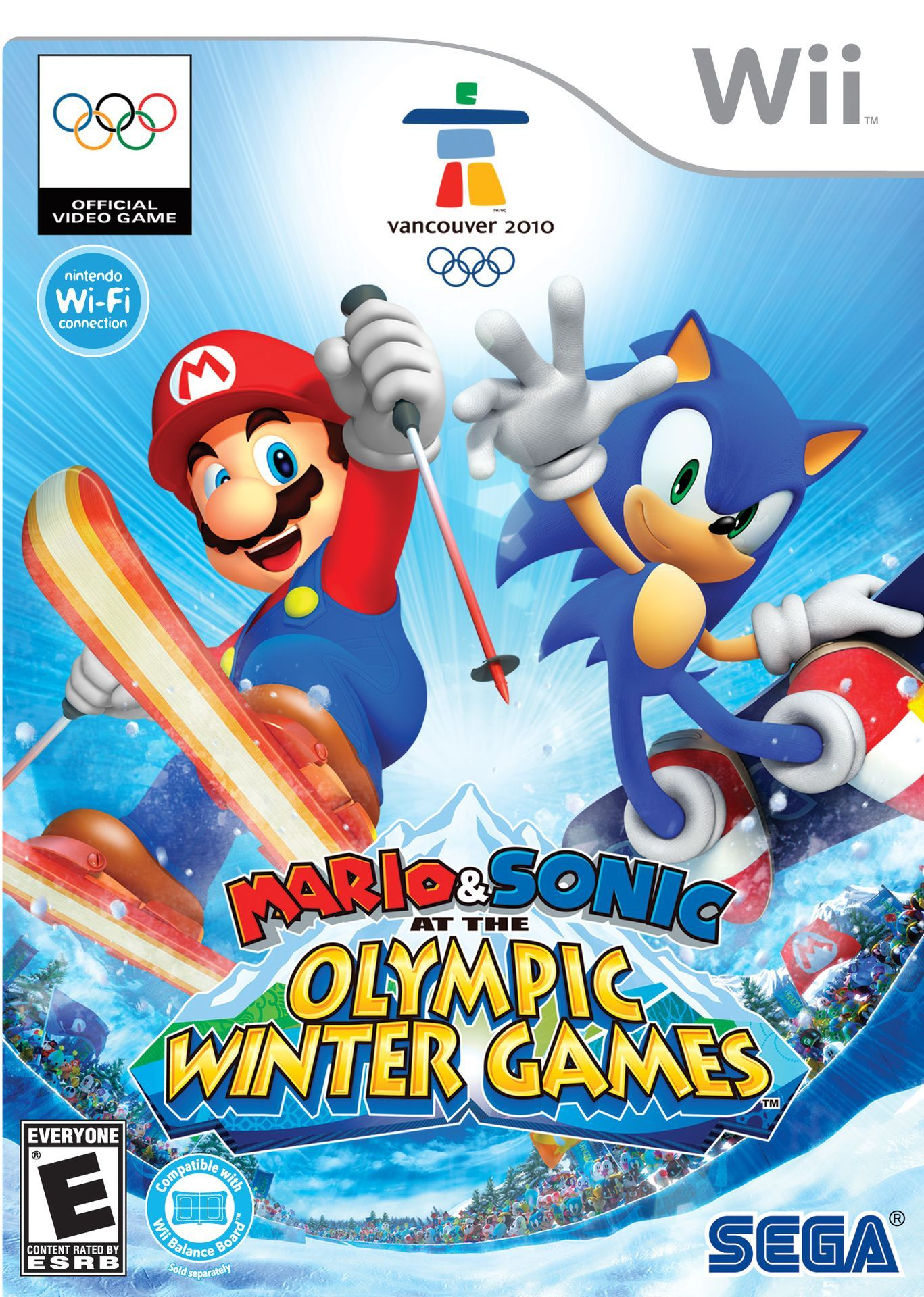 Mario & Sonic at the Olympic Winter Games (Wii) Super