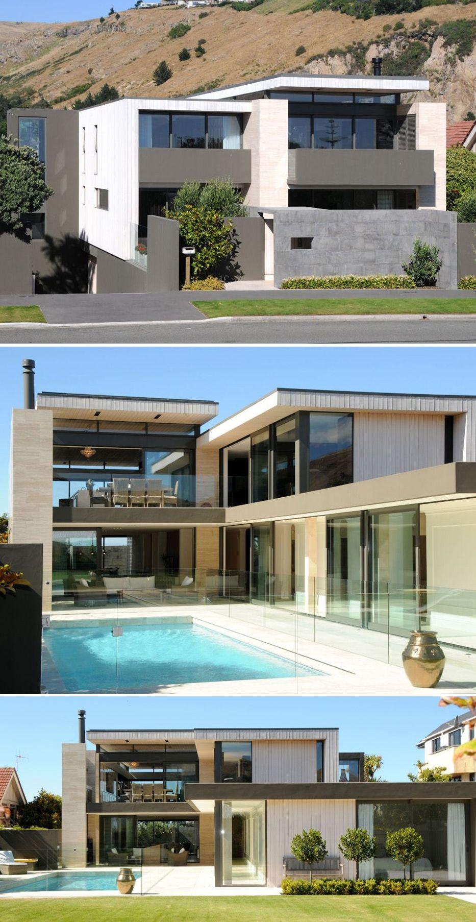 Moderne häuser poolhäuser home pläne moderne häuser moderne architektur ihr schönes zuhause haus design schwarzen fenstern fassade