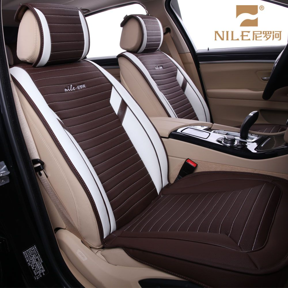 Nile 2017 dubai wellfit popular pu leather car seat cover set