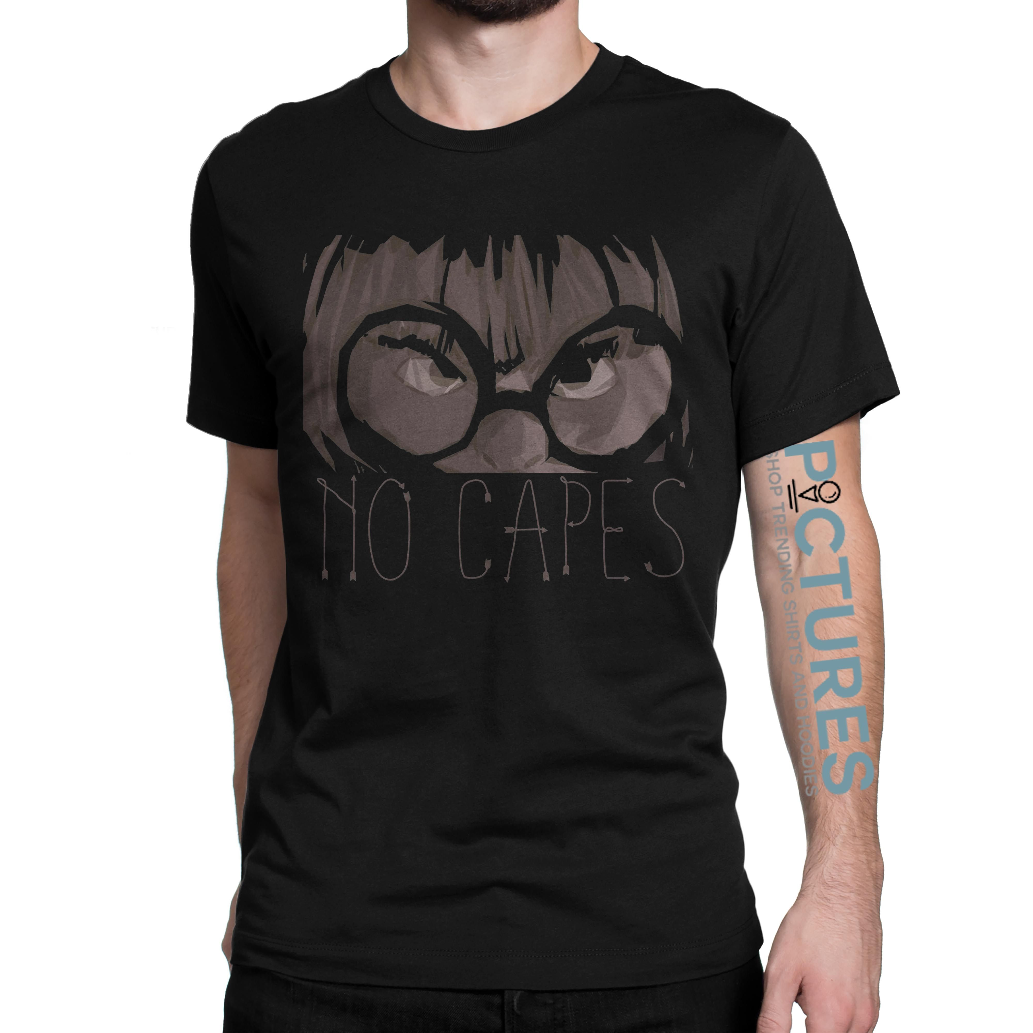 622ee58a1 Edna mode No capes Incredibles shirt | Picturestees Clothing | Edna ...