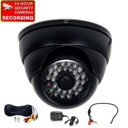 VideoSecu Built-in 1/3'' SONY Effio CCD Day Night Vision