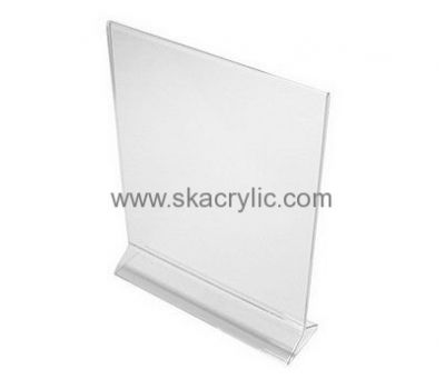 Custom Design Acrylic Plastic Stand Up Frames Acrylic Table Top Stands Signs Sh 084 Acrylic Sign Brochure Holders Acrylic Table