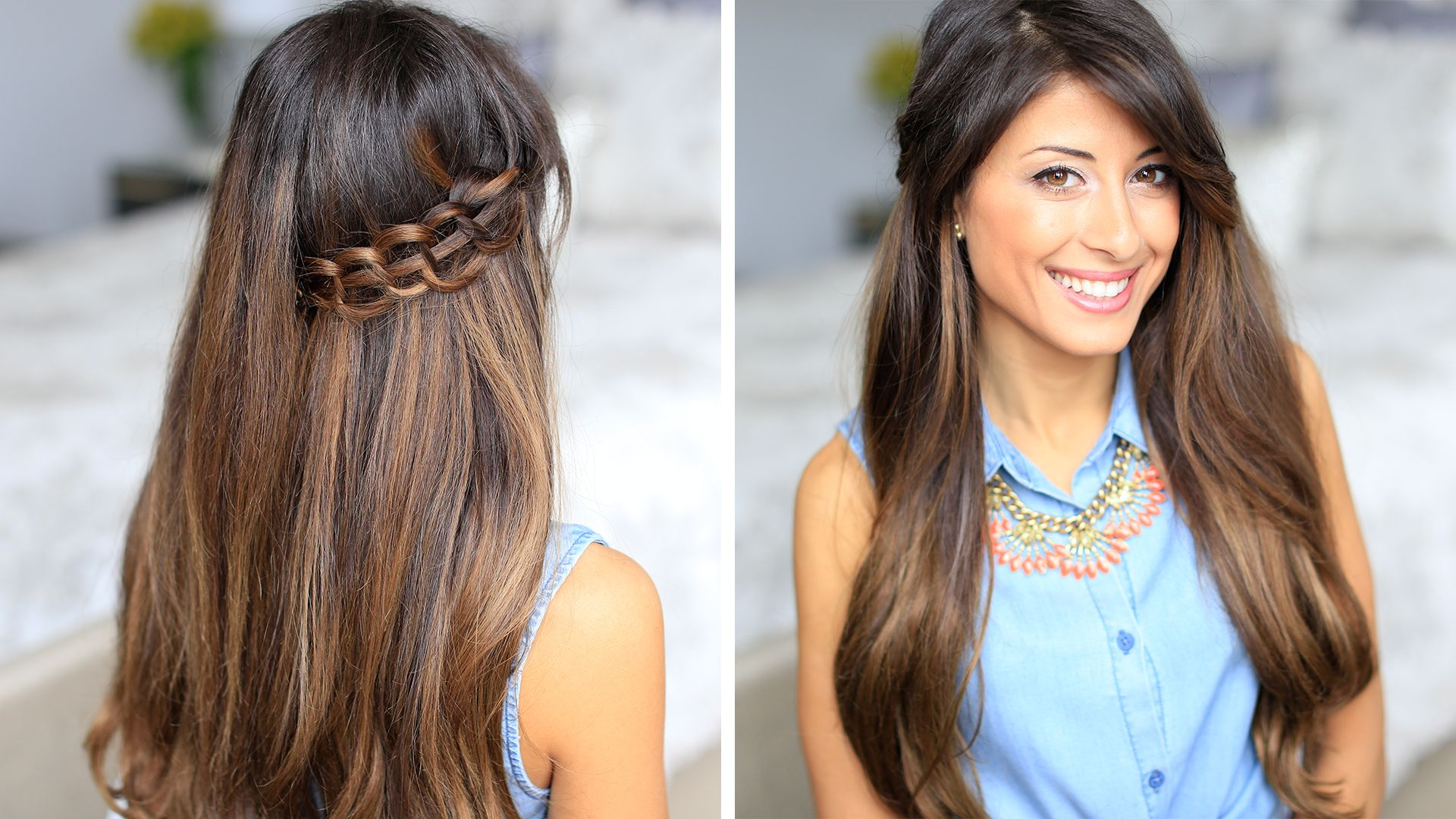 quick and simple stitch braid. click to learn how to create