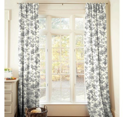 Toile Draperies Love Dining Room Curtains