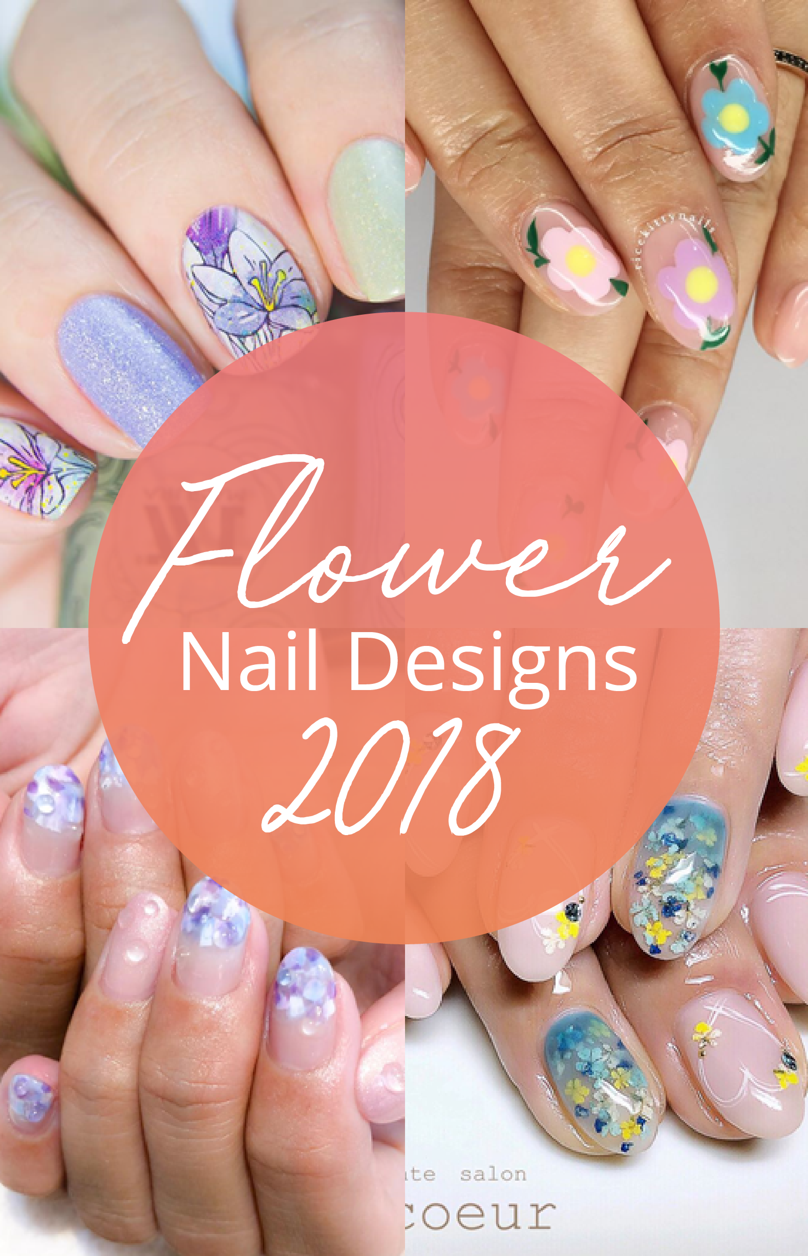 flower nail design ideas nail arts pinterest nail