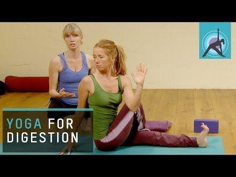 christmas yoga exercises digestion sos  youtube  yoga