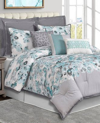 Cascavel 10 Piece Comforter Set Sale Bed In A Bag Bed Bath Macy S Comforter Sets Bed Comforters Bed in a bag sale