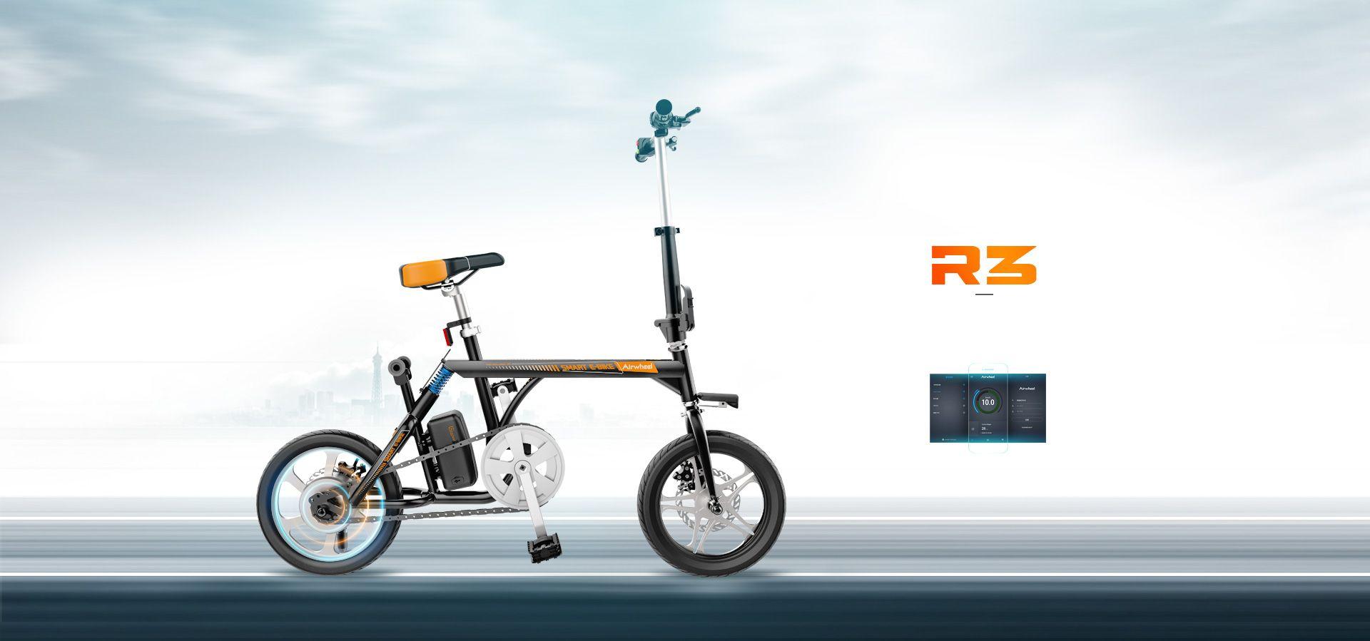 Airwheel R3 Mini Smart Electric Assist Bike The Innovator In