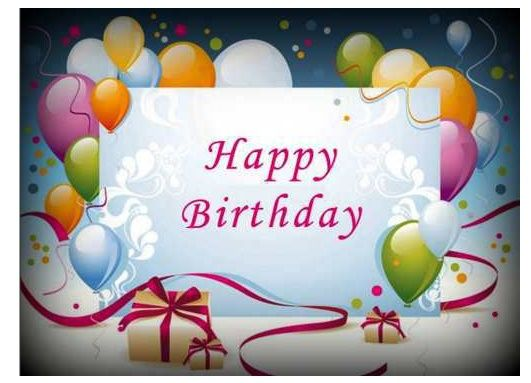 Happy Birthday Wishes, Images, Wallpaper For Friends 2015