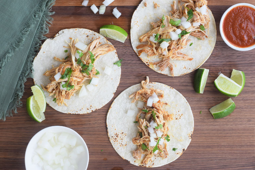 The Instant Pot Makes Chicken Tacos a Breeze to Prepare #shreddedchickentacos