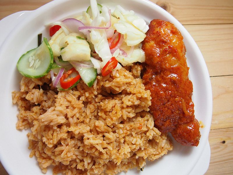 Nasi Tomato Utara Nasi Tomato Kedah Ayam Masak Merah Sedap Resepi Nasi Tomato Resepi Ayam Masak Merah Acar Je Resep Masakan Malaysia Memasak Resep Masakan