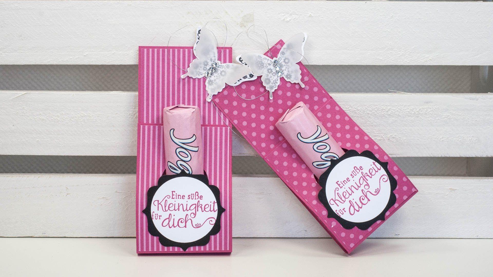 tutorial yogurette verpackung basteln verpackung geschenke und box. Black Bedroom Furniture Sets. Home Design Ideas