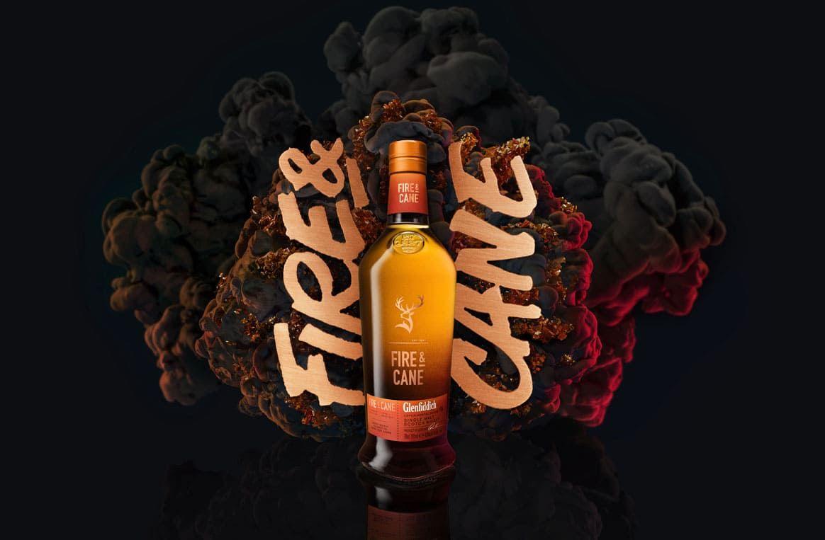 Glenfiddich Fire & Cane le 1er single malt tourbé et