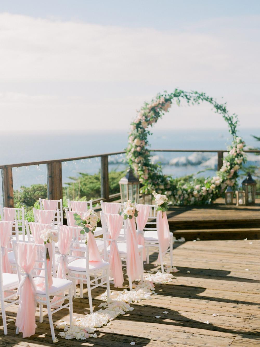 Wedding At Hyatt Carmel Highlands In 2020 Carmel Weddings Wedding Ceremony Sites Highland Wedding