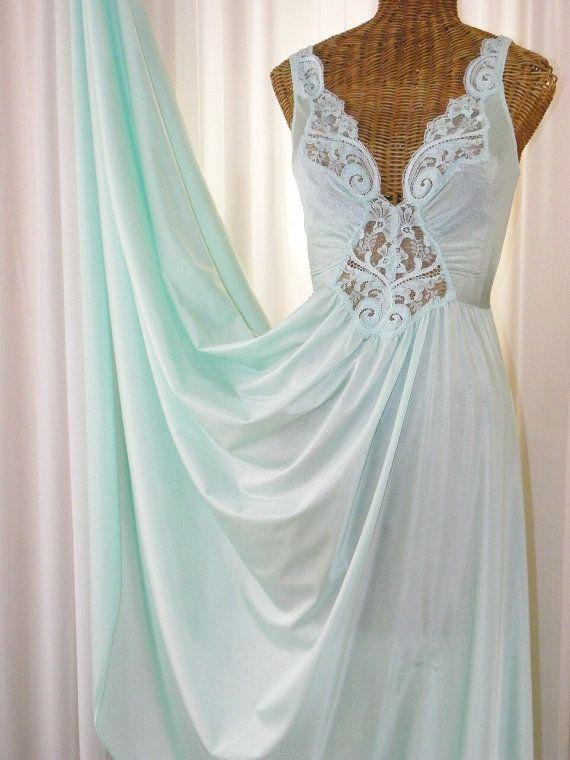 Vintage Olga Nightgown Made for Vandemere by Voilavintagelingerie ...