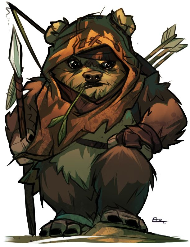 Wicket by E-Mann #StarWars