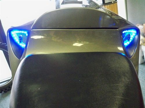 20042007 Honda CBR1000RR Rear Vent LED Flexible Halos