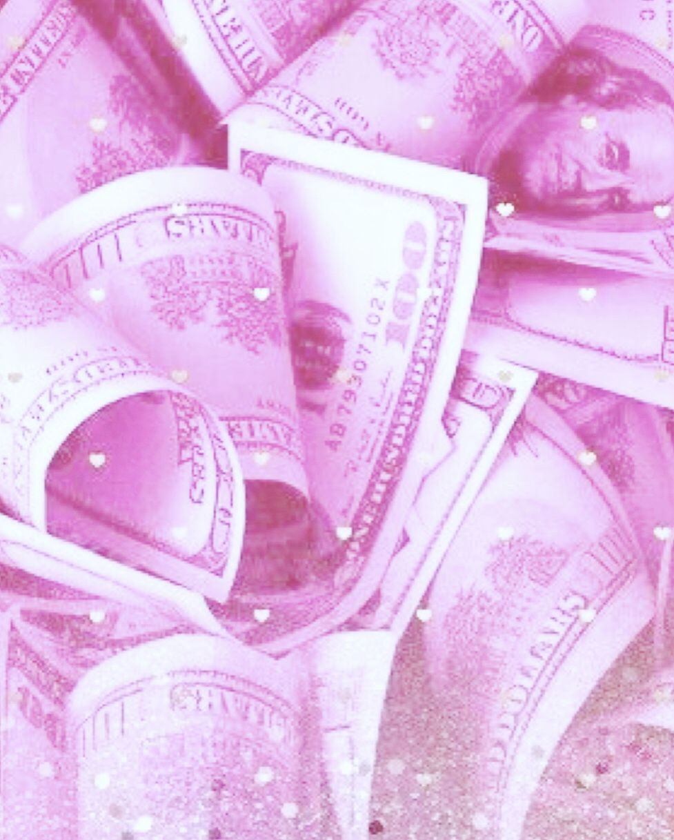 Pastel Pink Money Pink Aesthetic Sparkly Background Pink Vibes