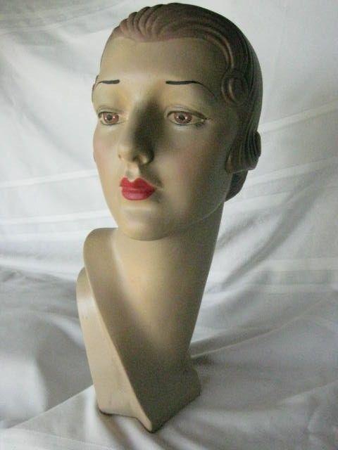 Mannequin Head Advertising Display