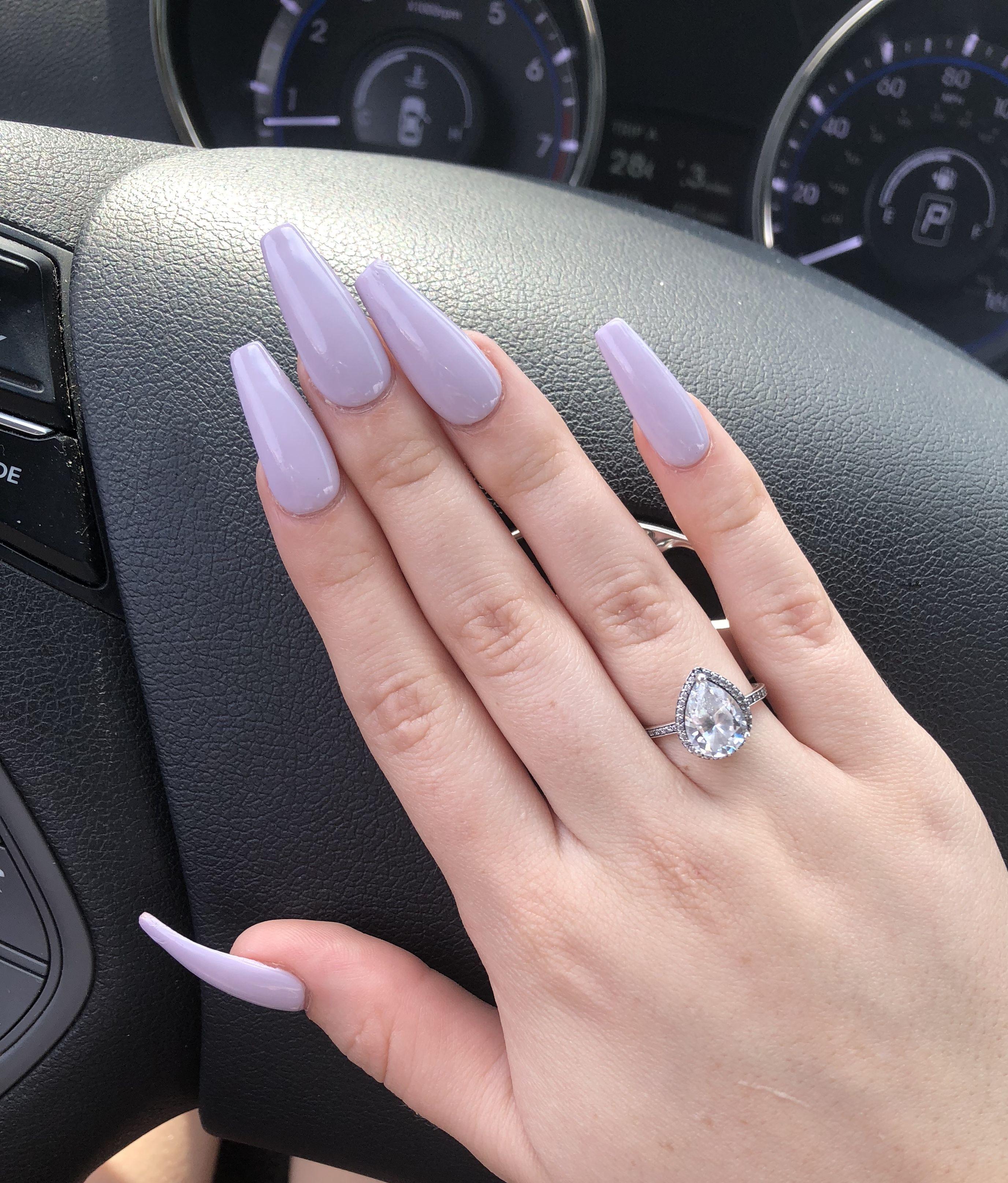 @diyanaaaa💜 | Nails, Nail colors, Nail tips
