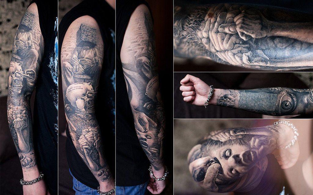 My Right Hand Tattoo By Andragon Deviantart Com On Deviantart Tattoo Tatts Hand Tattoos Tattoos Best Tattoo Designs